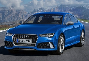 2016 Audi RS7 Performance; top car design rating and specifications